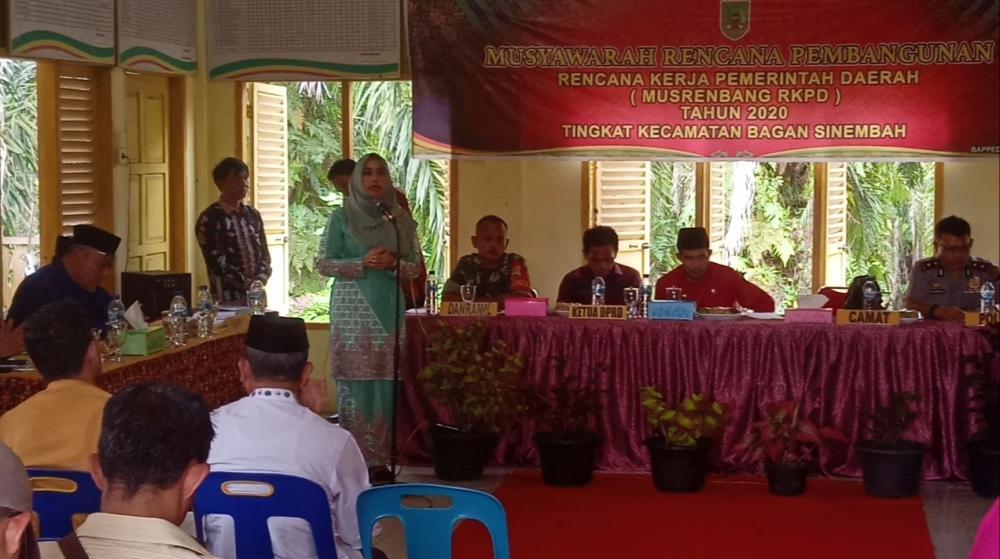 Musrenbang di Kecamatan Bagan Sinembah, Camat Sebut Ada Kekecewaan dari Beberapa Penghulu