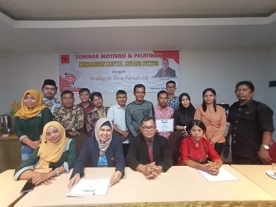 Pekanbaru Journalist Center (PJC) Menggelar Kembali Pelatihan Jurnalistik