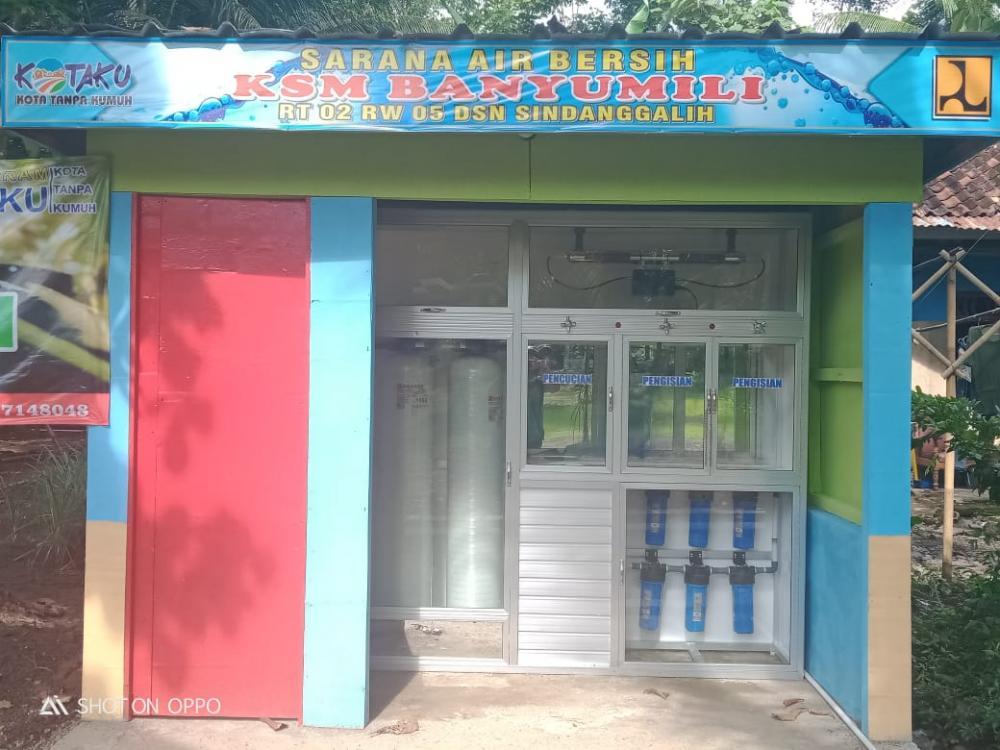 Edi : Program bantuan KOTAKU (kota tanpa kumuh) berupa sarana air bersih Kualitasnya Tidak Baik