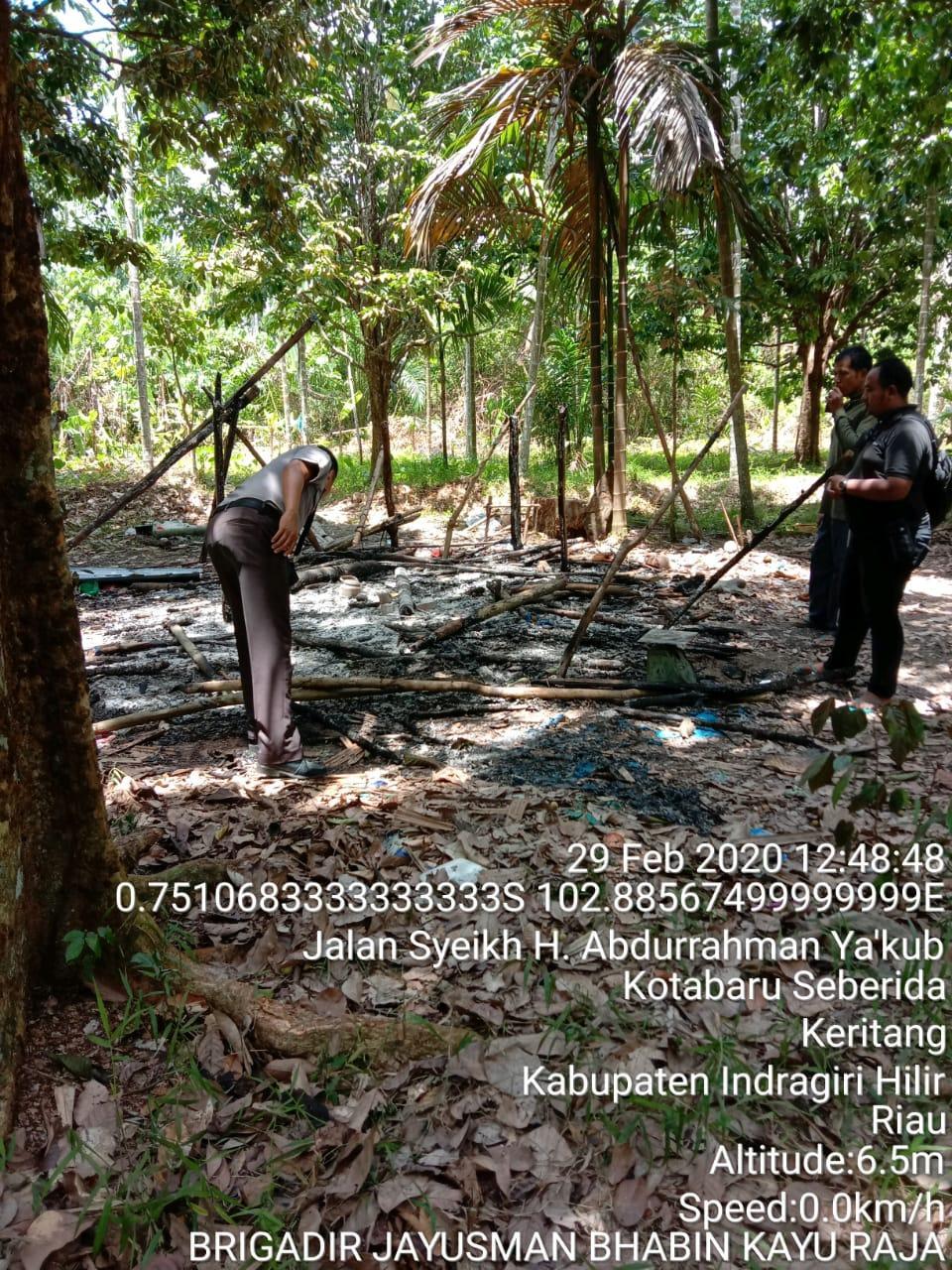 Pondok terbakar 3 Orang Penghuni Dilarikan ke Rumah Sakit