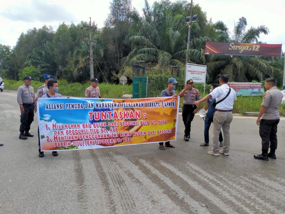 APMPB wakili Masyarakat Pelalawan, Minta RAPP Perhatikan Bau Busuk dan Menyengat dari Pabrik