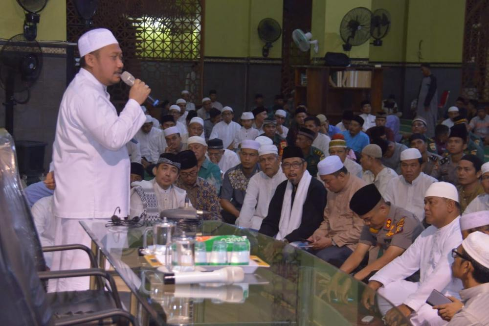 Tabliq Akbar Hut Kampar Hadirkan Prof Munzir Hitami dan Dr Mawardi di Markas Islami