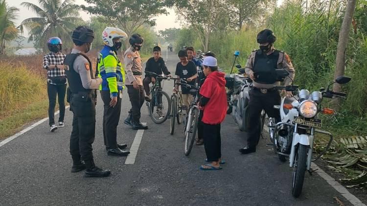 Patroli Anti Begal Sepeda Ciptakan Rasa Aman dan Nyaman Bagi Pesepeda di Tembilahan
