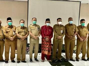 Bappeda Kampar Ekpose Program Prioritas Kampar di Bappeda Propinsi Riau