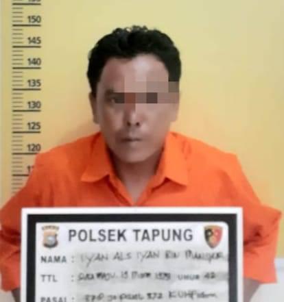 Tipu Korbannya Rp 60 Juta, Pelaku Ditangkap Unit Reskrim Polsek Tapung Diwilayah Rohul