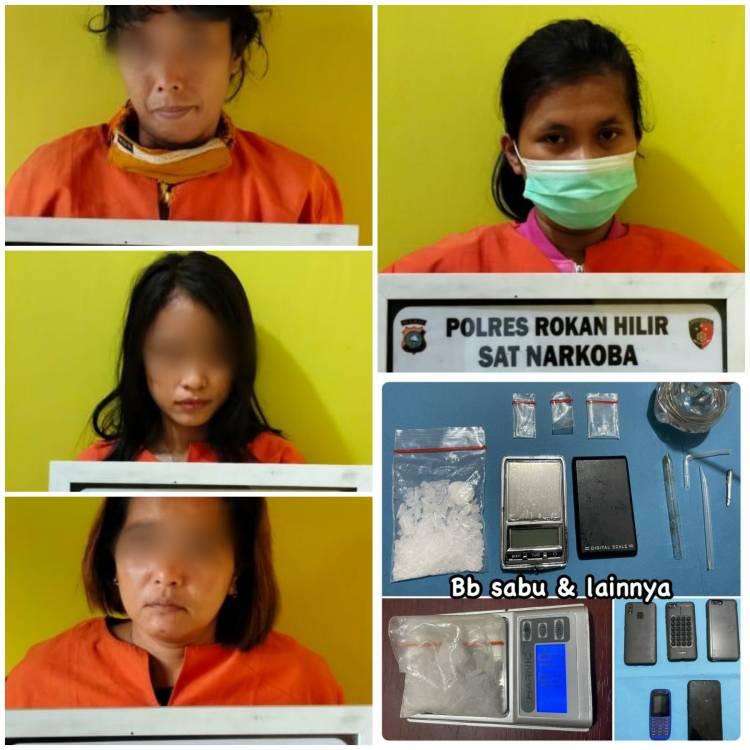 Grebek Hotel Skip Bagan Batu, Polisi Amankan Sejumlah Wanita Terkait Sabu