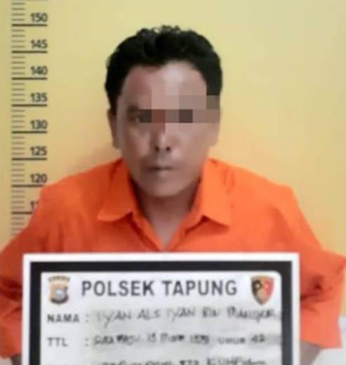 Pelaku Penipuan Berhasil Ditangkap Unit Reskrim Polsek Tapung, Korban Alami Kerugian Rp 60 Juta