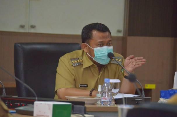 Bupati Kampar Pimpin Rapat Khusus Evaluasi Kinerja OPD