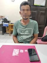 Lagi, Seorang Pengedar Sabu Ditangkap Resnarkoba Polres Kampar di Kelurahan Pulau Bangkinang