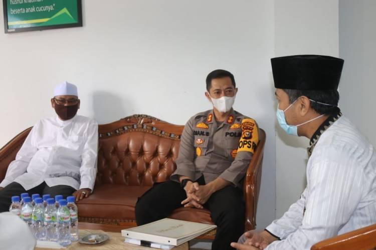 Kapolres Inhil Silaturahim ke Pengurus Cabang Nahdlatul Ulama (PCNU) Kabupaten Inhil
