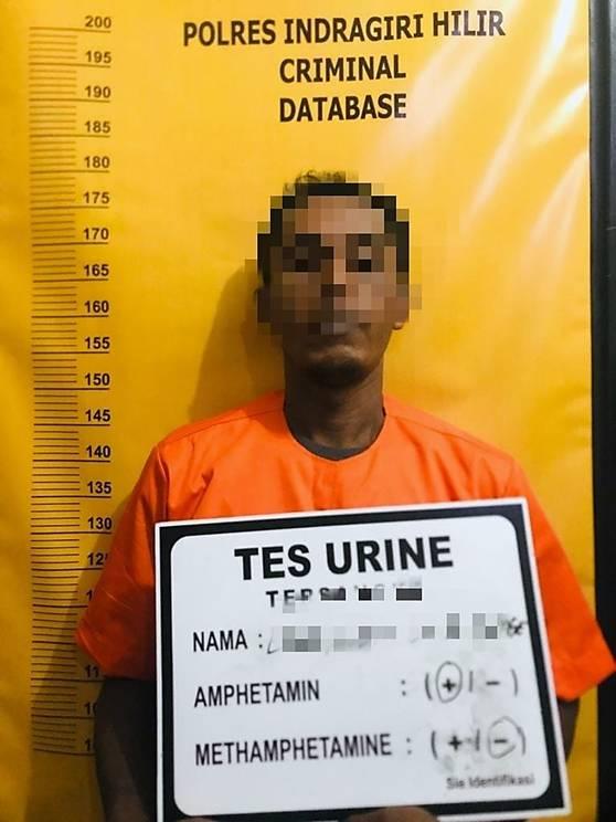 Dalam 'Operasi Antik', Polsek Reteh Polres Inhil Berhasil Menangkap Seorang Pelaku TP Narkotika