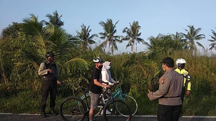 Warga Merasa Aman dengan Kegiatan Rutin Patroli Anti Begal Sepeda Polres Inhil