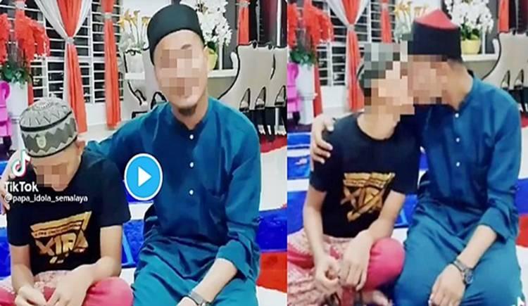 Seorang Pria Bagikan Video Cium Bibir Anak Lelaki di TikTok, Kini Diburu Polisi