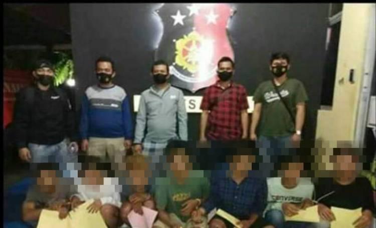 Polisi Tangkap 7 Pelaku yang Mengakibatkan Hilangnya nyawa Rio