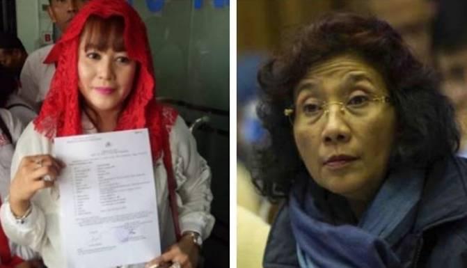 Politikus PDIP Dewi Tanjung : Saya Bisa Menenggelamkan Susi Pudjiastuti Mantan Menteri Kelautan