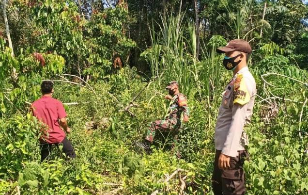 Peduli Karhutla, Koramil Babinsa 05 / Rupat Gelar Patroli Lahan Rawan Kebakaran