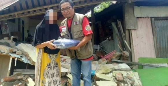 IWO Salurkan Bantuan Bencana Alam di Mamuju, Sulawesi Barat