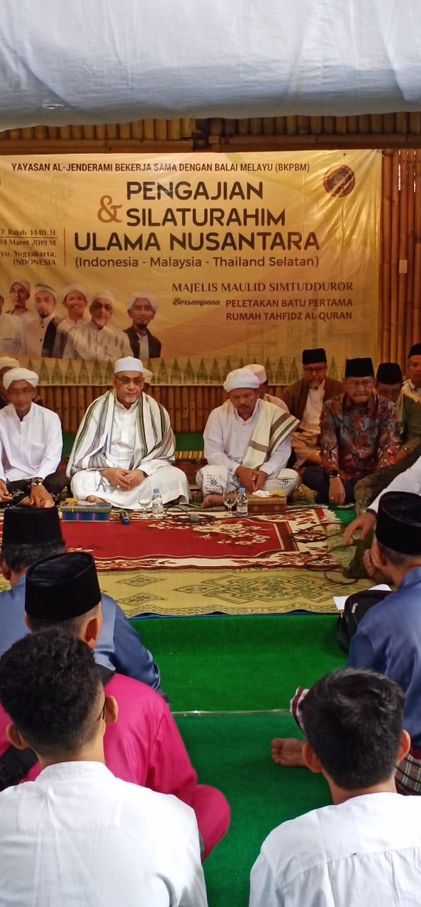 Wakil Bupati Inhil Ikuti Pengajian Dan Silaturrahmi Ulama Nusantara