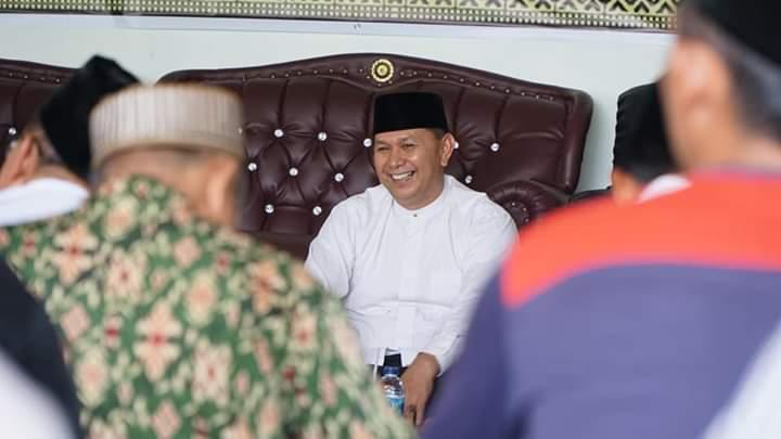 Bupati H Sukiman Dapat Amanah  Silaturahmi Dengan Para Ulama,  Lanjutkan Pembangunan