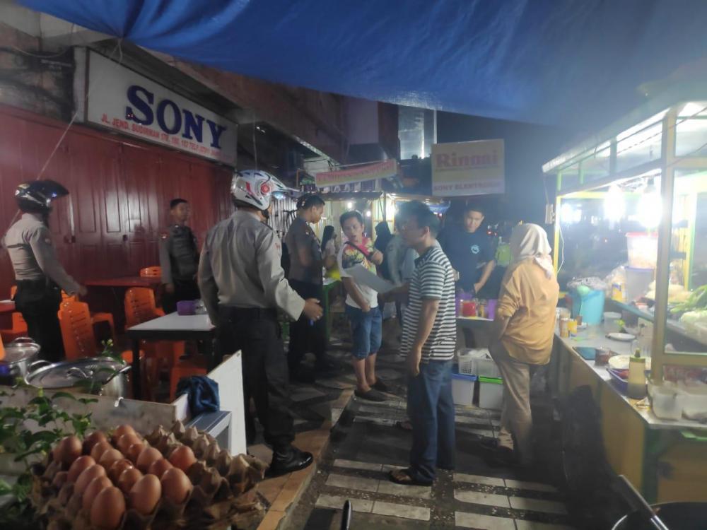 Cegah Penyebaran Covid19, Polda Riau Gelar Patroli Skala Besar.