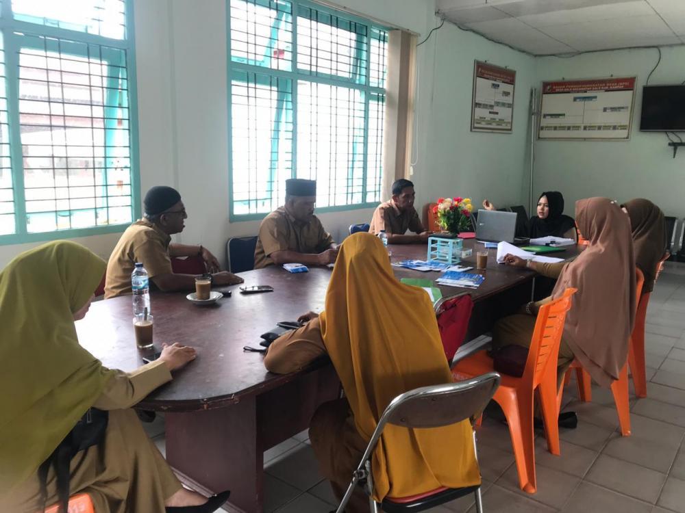 Inspektorat Kabupaten Kampar bersama Tim pembina Lakukan Sosialisasi di Desa Salo