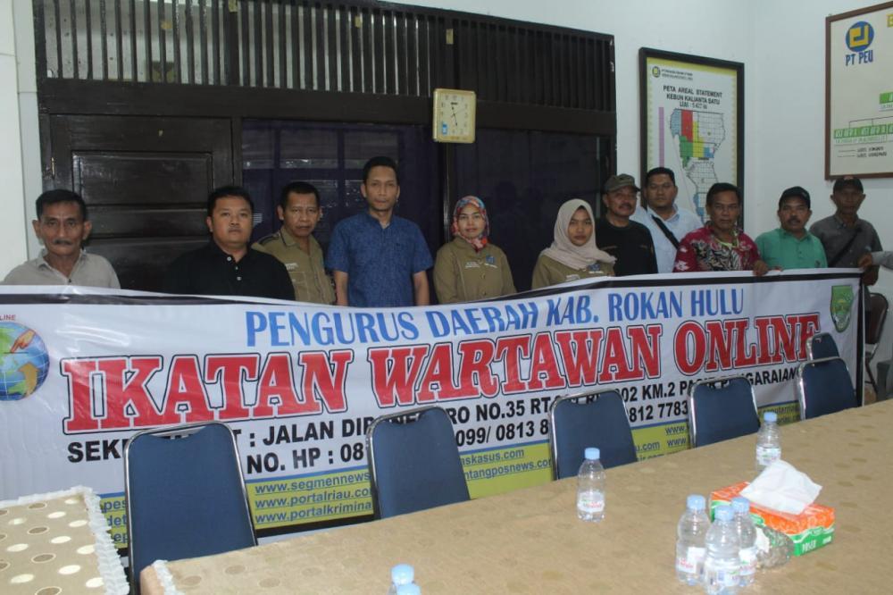 IWO ROHUL kunjungi PT PADASA Kalsa Kecamatan Kabun Rokan Hulu