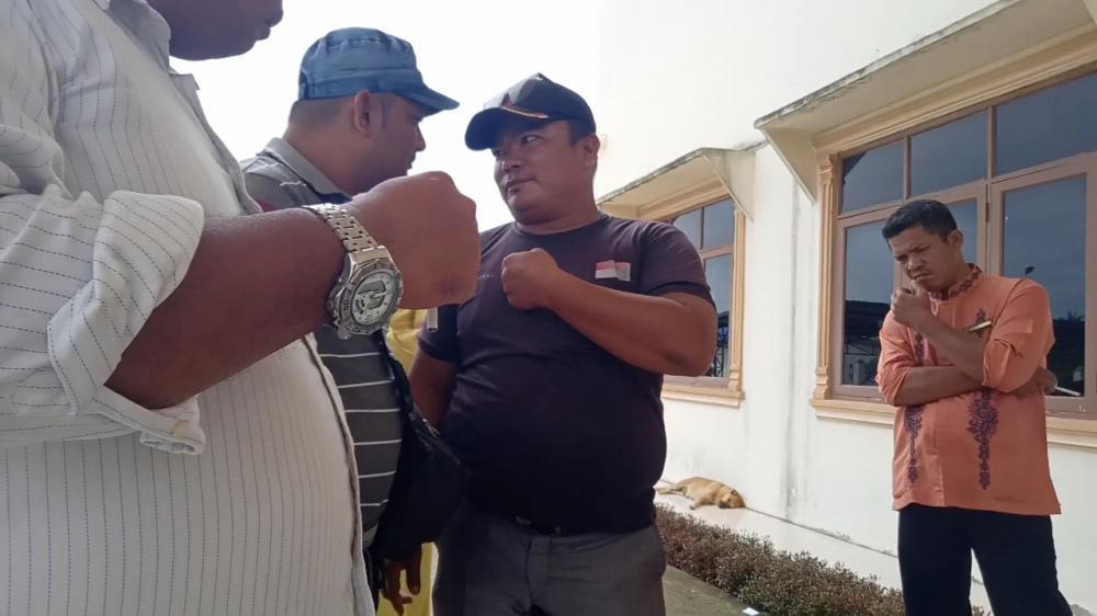Waduh, Wartawan dan LSM Sempat Dihadang Security PKS PT KAN