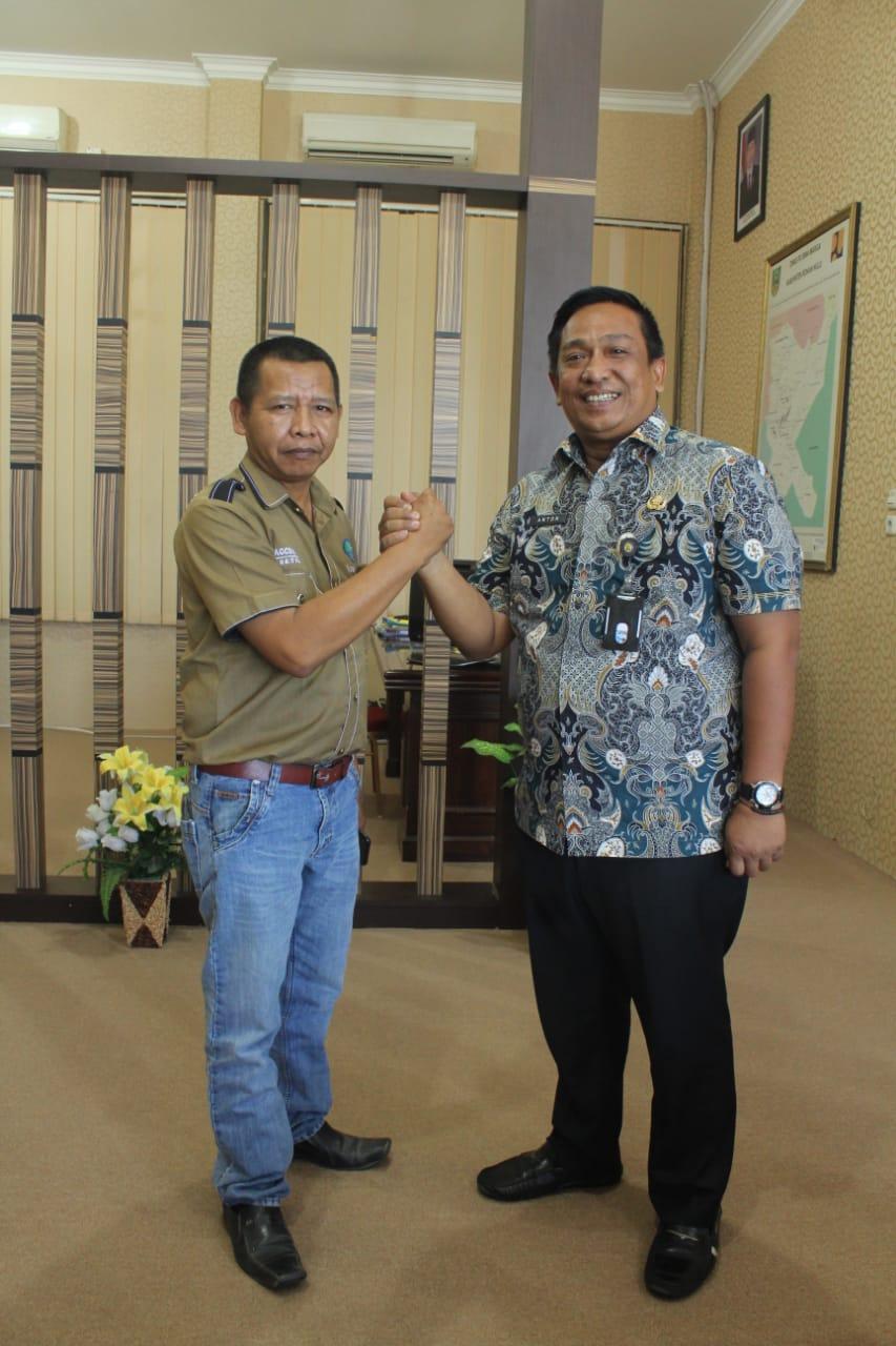 PD IWO Rohul jalin silaturrahmi dan sinergi dengan Dinas PUPR