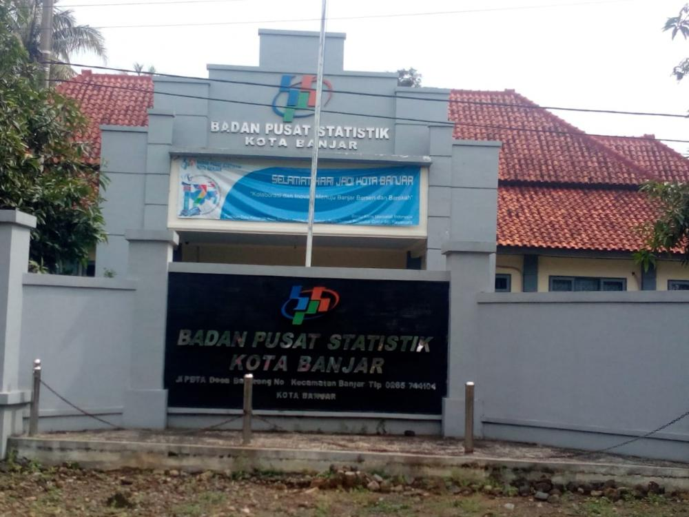 Badan Pusat Statistik ( BPS ) Kota Banjar Untuk Sementara Berhentikan kerja di lapangan.