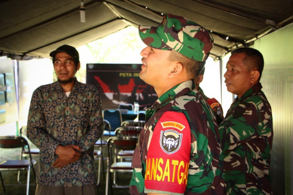 Geuchik Darwis : Terima Kasih Pak TNI, Sudah Membangun Desa Kami