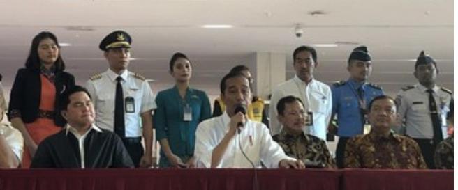 Presiden Joko Widodo Sebut Menangani Wabah Virus Corona  Secara Senyap