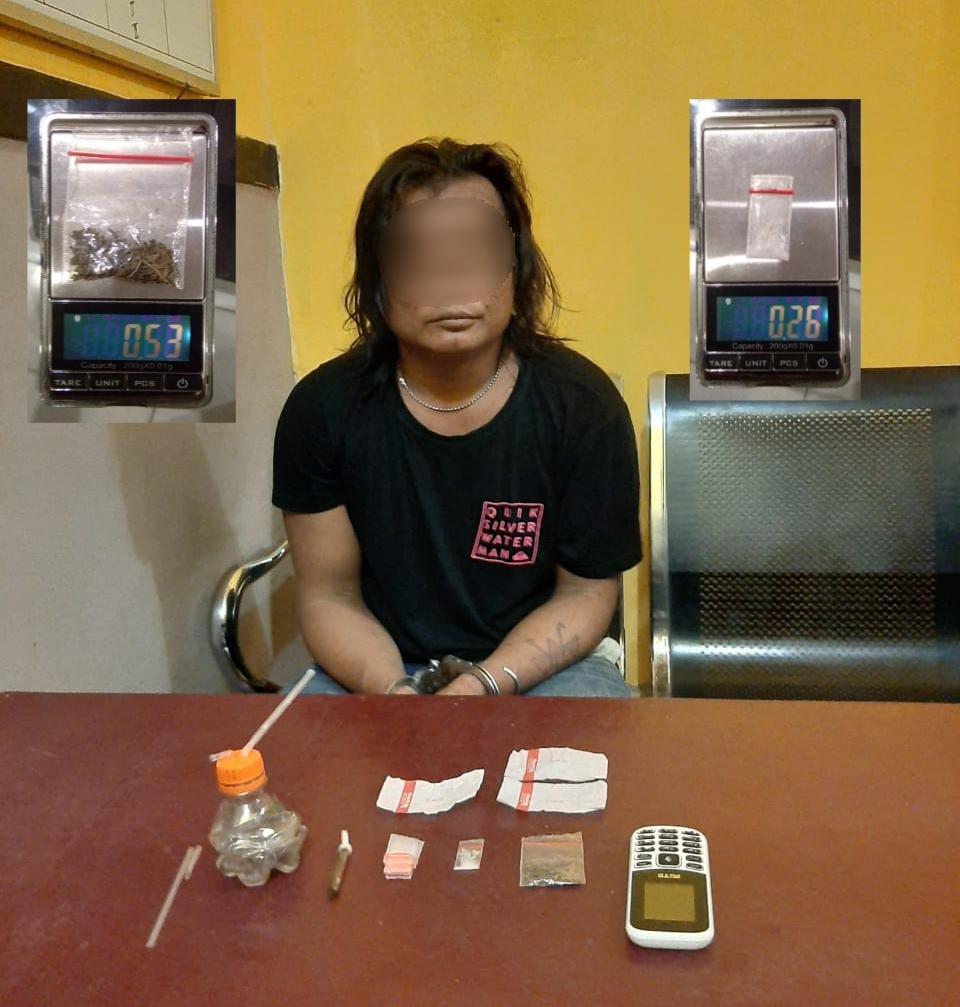 Tim Ops Polsek Bagan Sinembah Kembali Ungkap Pengedar Narkoba di Bagan Batu Rohil