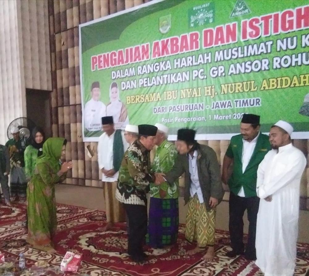 Ribuan Jamaah Ikuti Harlah Muslimat NU ke 74, Bupati H Sukiman