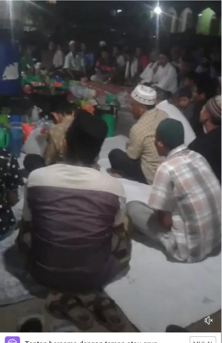 Warga Desa Sennah Gelar Doa Bersama Jauhkan Virus Corona