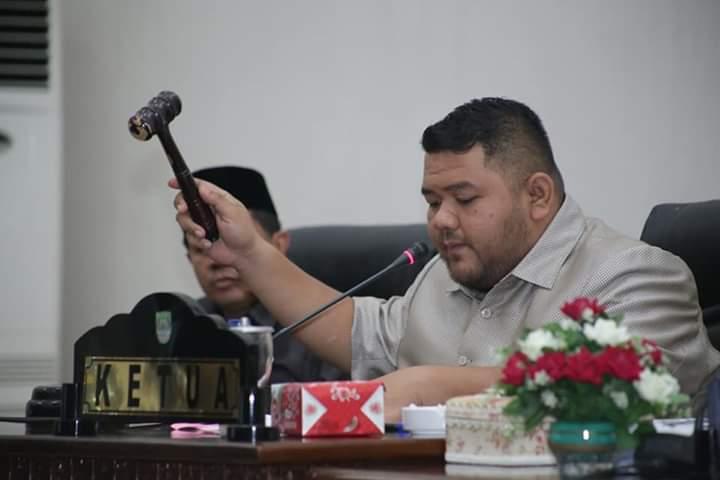 Paripurna  DPRD Rohul semua Fraksi setujui RANPERDA RIPARDA Kepariwisataan Kabupaten Rokan Hulu