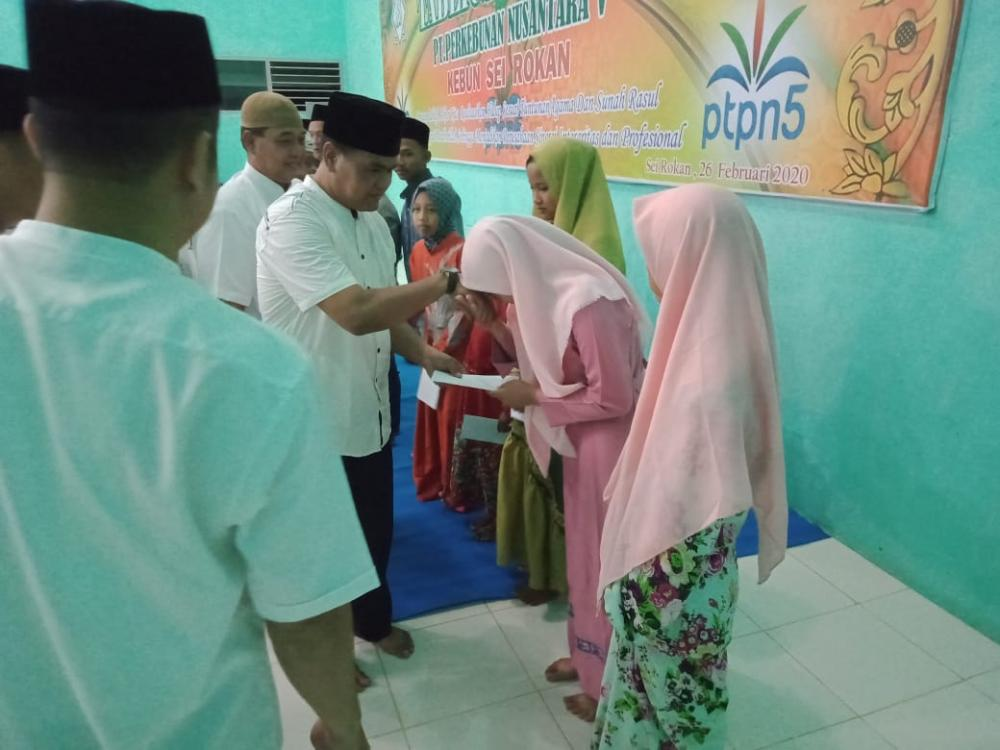 PTPN V SEI Rokan adakan acara Tabligh Akbar jalin silaturrahmi.