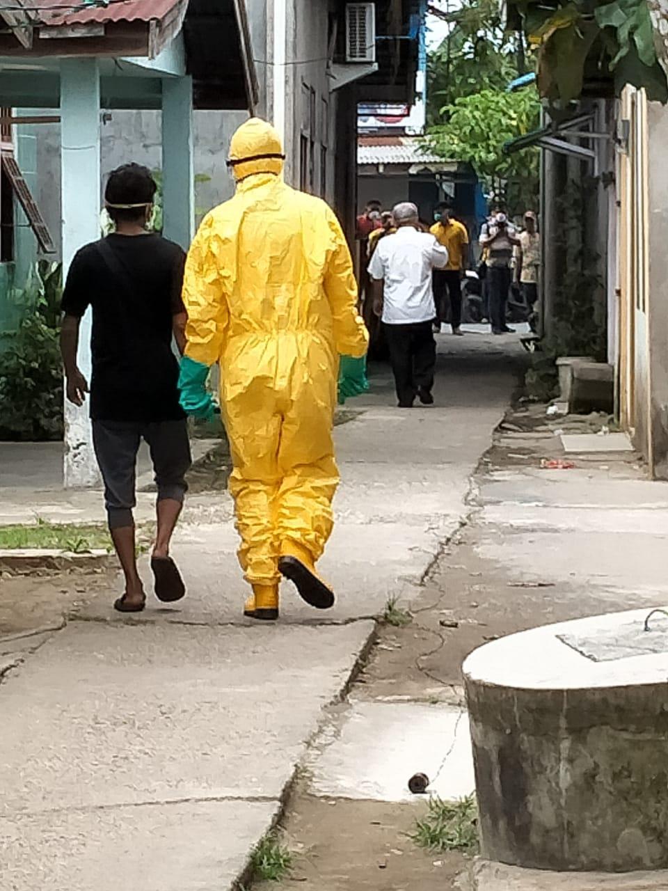 Diduga 5 ABK Terinfeksi Virus Carona di Evakuasi Ke RSUD PH Tembilahan