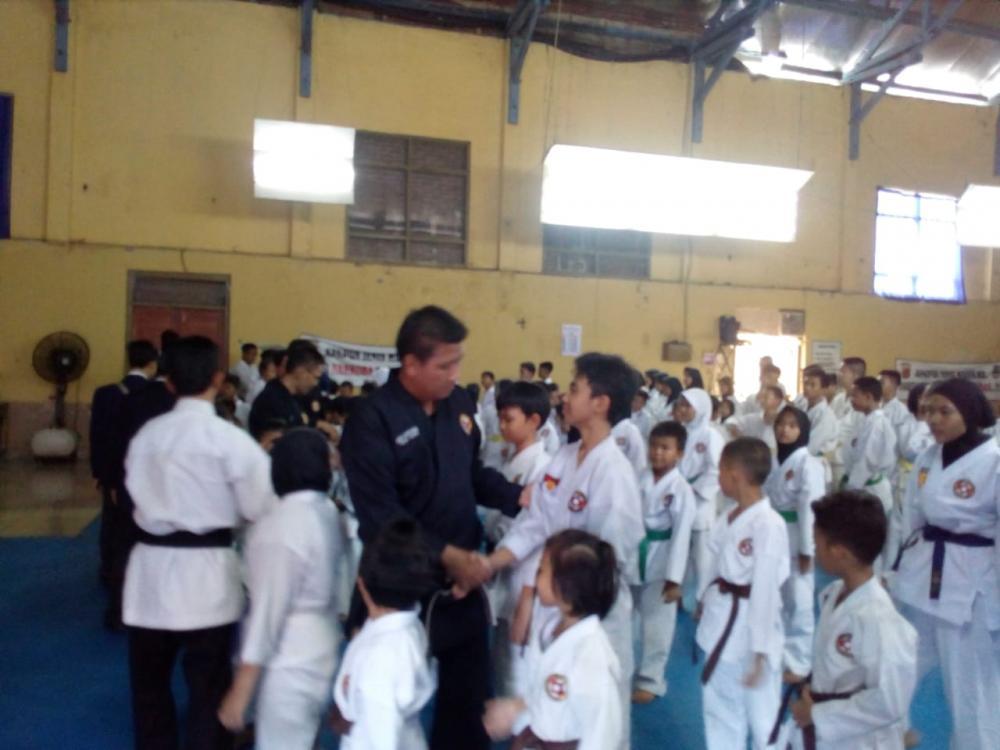 152 Peserta BKC Kota Banjar  Semangat Ikuti UKT periode Pertama