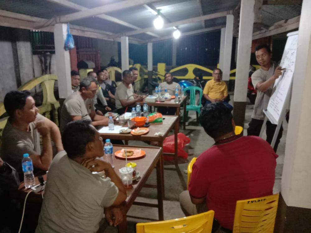 Hotspot Di Kabupaten Indragiri hilir Saat Ini Nihil, Kapolres Inhil Dan Personil Tetap Siaga