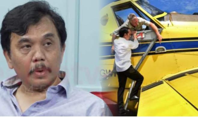 """Syahganda Nainggolan : """"Saya Bukan Kecewa, Ini Saya Lagi Menghitung Jokowi Kapan Jatuhnya,"""""""