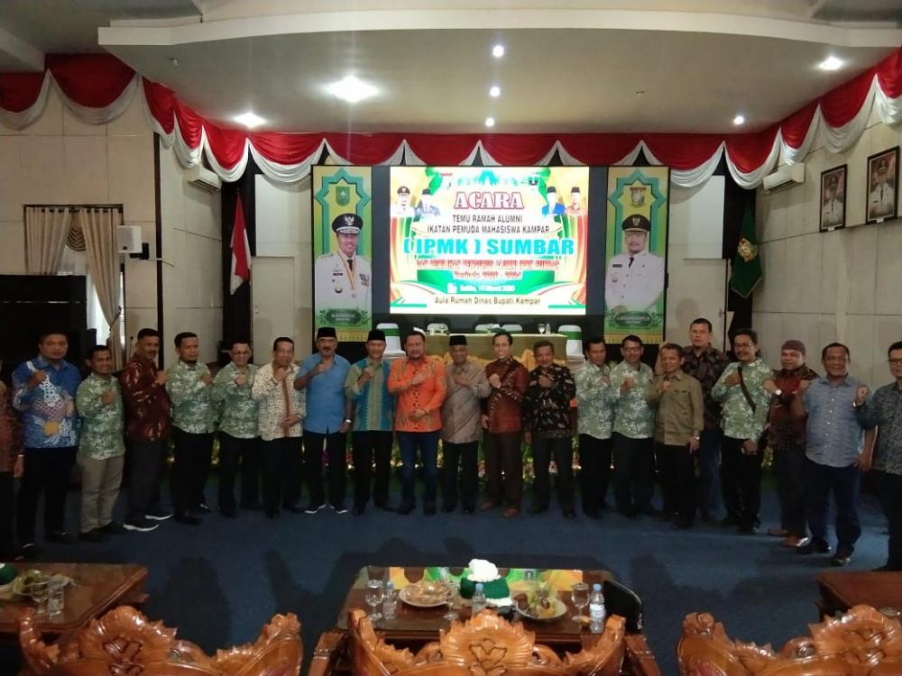 Alumni IPMK Sumbar  : Jadikan Momen Silaturrahmi ini Untuk Membangun Negeri