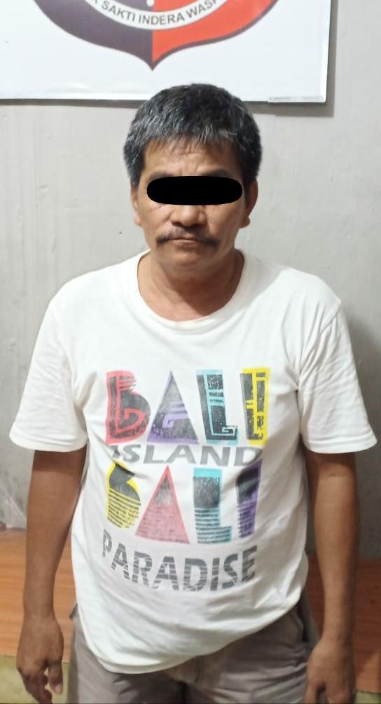 Kakek 62 Tahun Tukang Tulis Togel Diaman kan Polisi