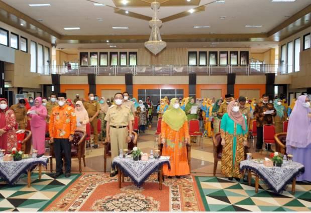 HM Wardan Hadiri Pengukuhan Pokja Bunda Paud Kabupaten Indragiri Hilir