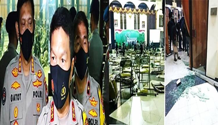 Kericuhan Terjadi di Kongres HMI XXXI Surabaya, Enam Peserta Diamankan dan Diperiksa Polisi