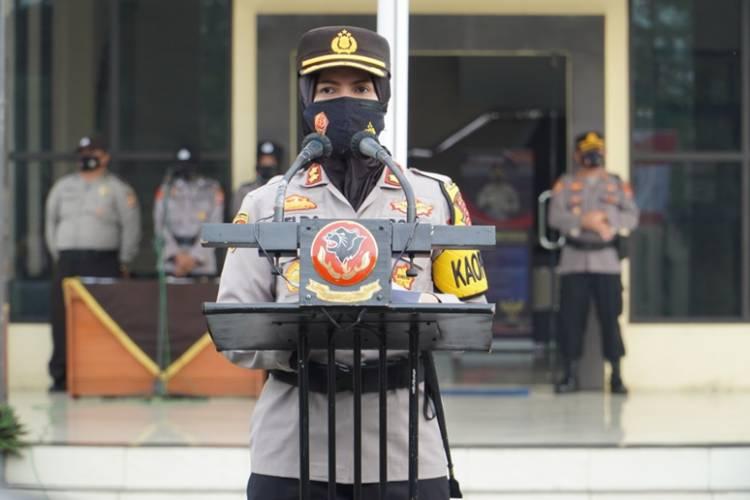 10 Personel Polres Banjar Berprestasi Diberi Penghargaan oleh Kapolres Banjar Polda Jabar