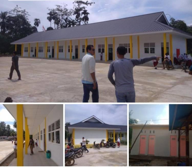 2019, Balai Prasarana Pemukiman Wilayah Riau Selesai Rehap 5 Sekolah di Rohul