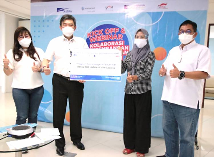 Antisipasi Pandemi, FIFGROUP Luncurkan Dana Bergulir untuk 588 UMKM Bersama 4 Lembaga Astra