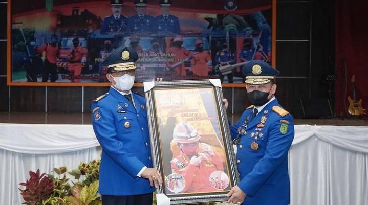 Bupati HM Wardan Menghadiri HUT Pemadam Kebakaran Dan Penyelamatan Ke 102