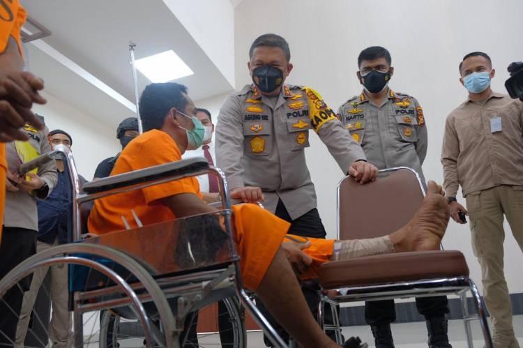 Polda Riau Sita 40 KG Sabu Dan 50.000 Butir Ekstasi