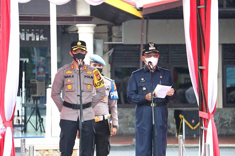 Polres Inhil Launching Aplikasi Elektronik Data System (EDS), Permudah Layanan Kepolisian